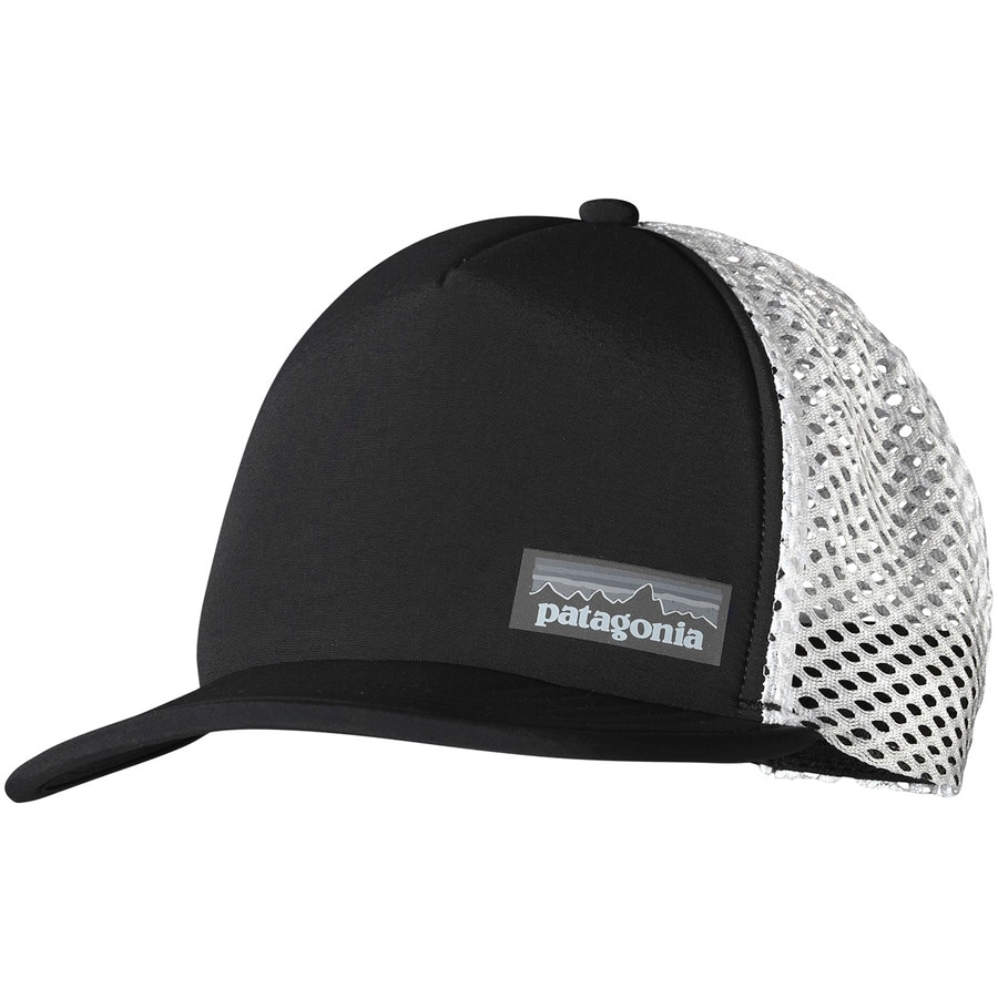 Patagonia duckbill trucker hat for Patagonia fly fishing hat