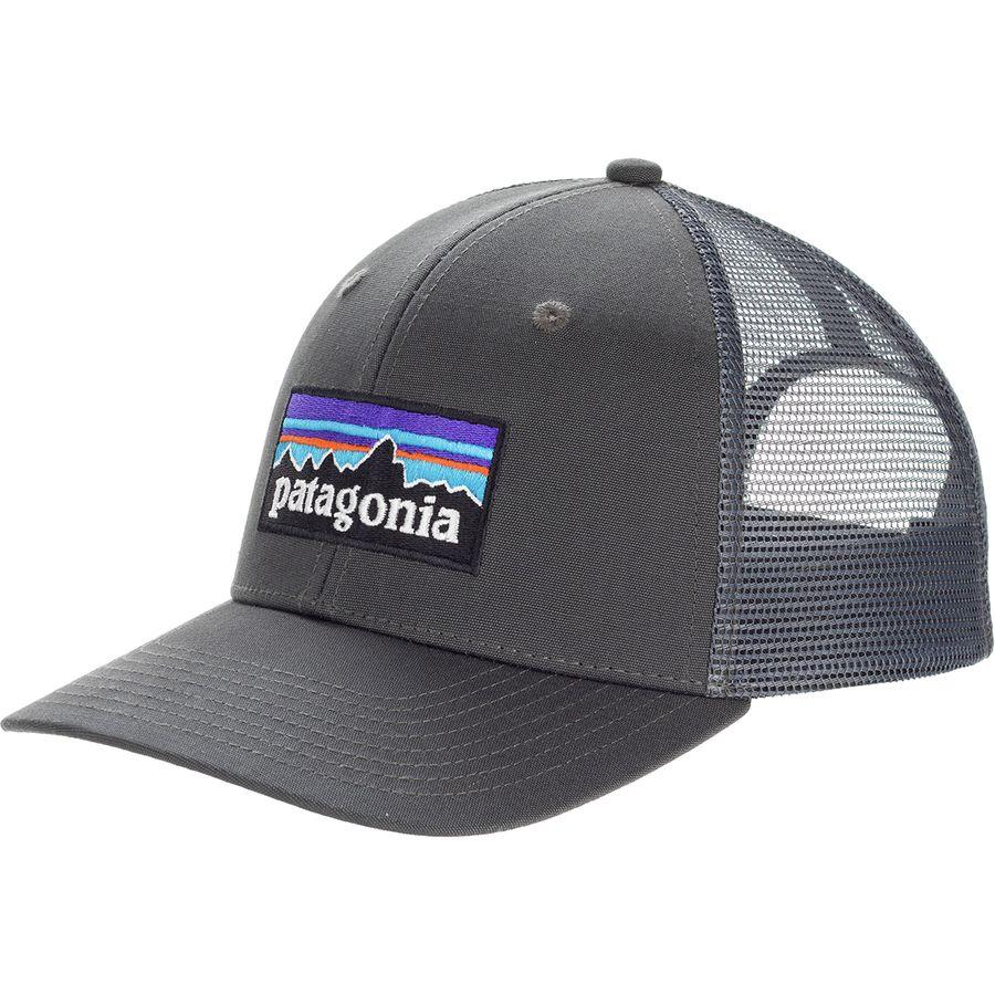 Patagonia p 6 logo trucker hat for Patagonia fishing hats