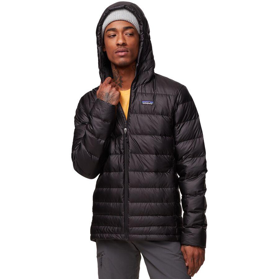 Mens Hooded Down Jacket - JacketIn