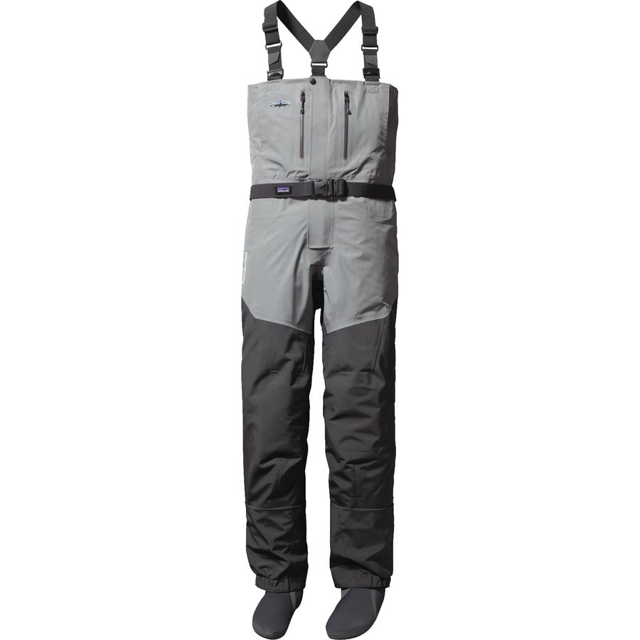 Patagonia rio gallegos zip front wader men 39 s for Surf fishing waders