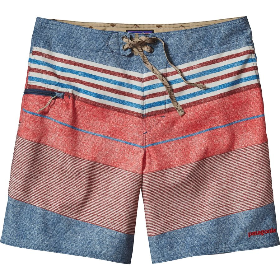 Patagonia Printed Stretch Planing Board Short - Mens