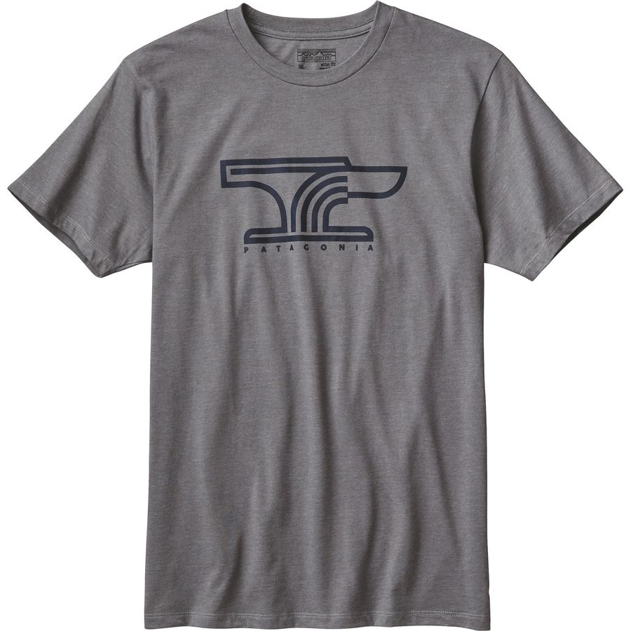Patagonia anvil t shirt short sleeve men 39 s for Where are anvil shirts made