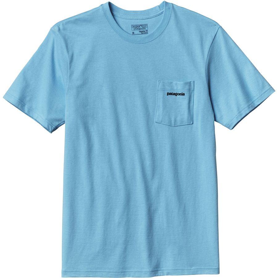 Patagonia p 6 logo pocket t shirt men 39 s for Pocket logo t shirt