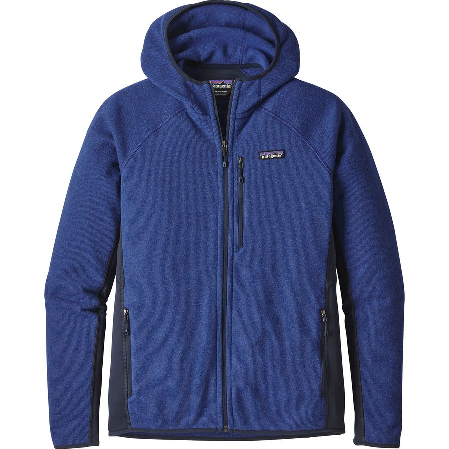Patagonia Performance Better Sweater Hooded Fleece Jacket
