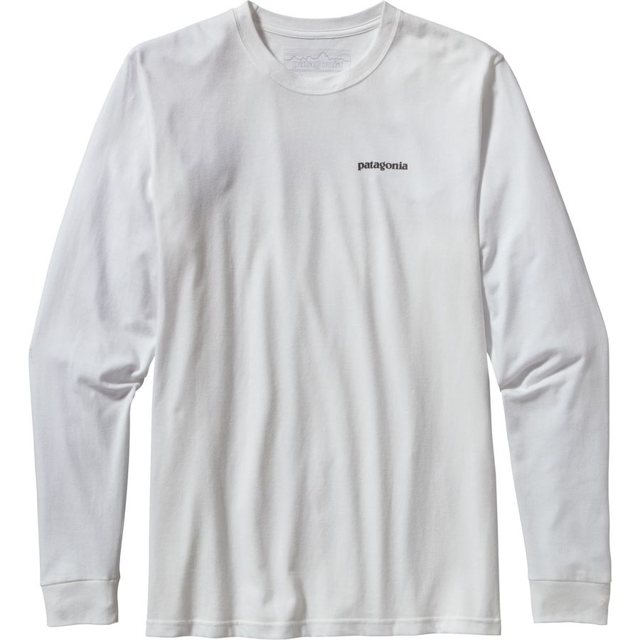 Patagonia P-6 Logo Long-Sleeve T-Shirt - Mens