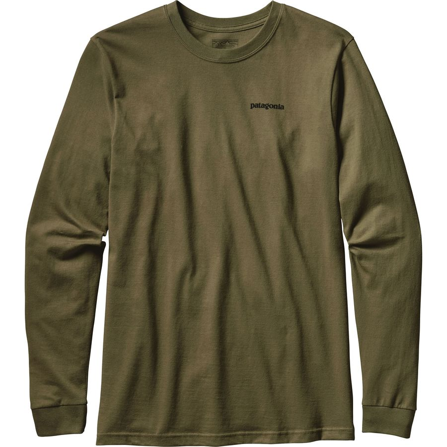 Patagonia Fitz Roy Trout Long Sleeve T-Shirt - Mens