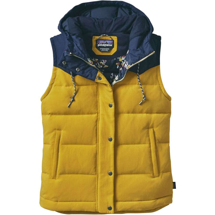 Patagonia Bivy Hooded Down Vest - Womens