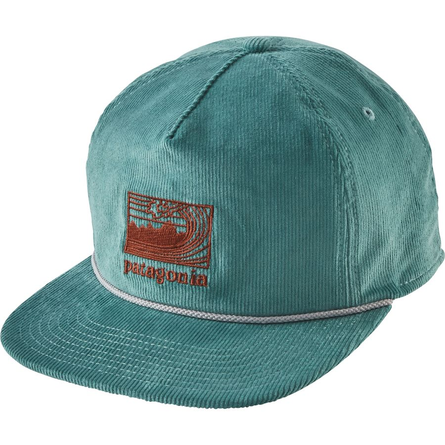 Patagonia framed fitz roy corduroy snapback hat for Patagonia fish hat