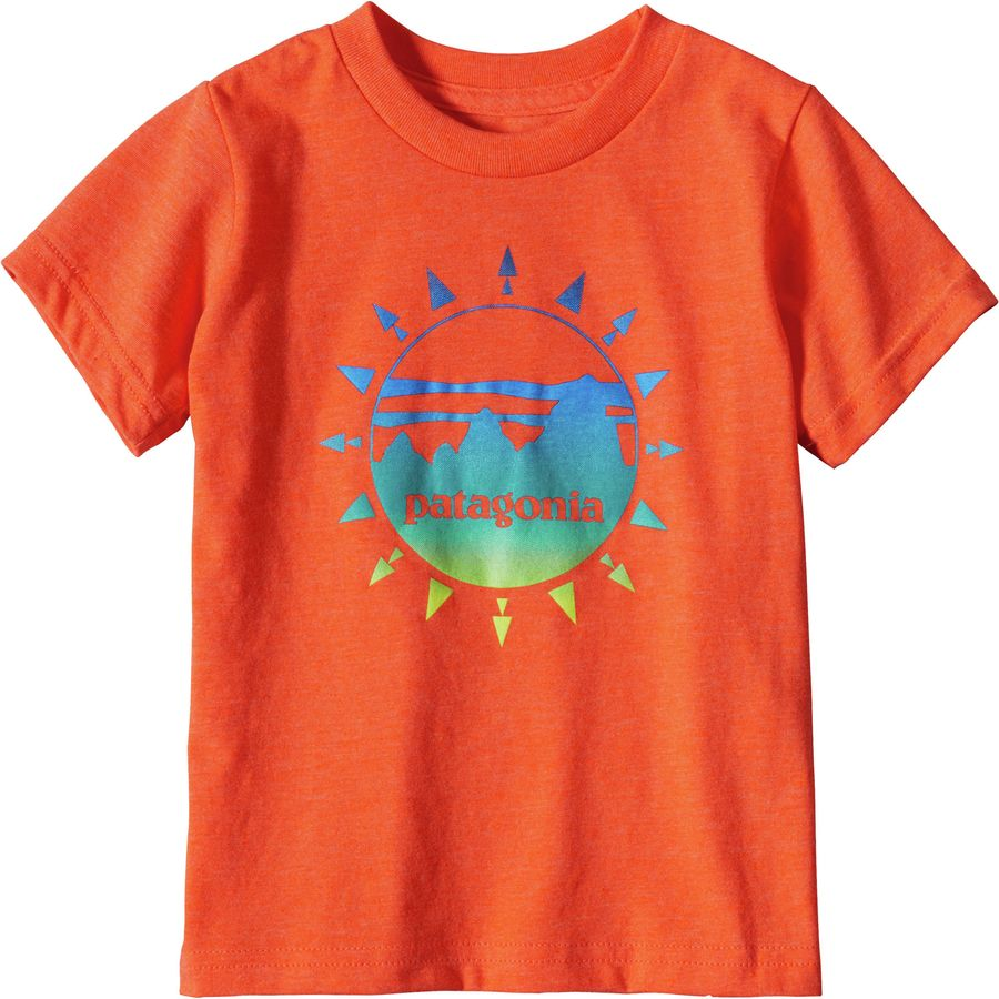 Patagonia Graphic Cotton Short Sleeve T Shirt Toddler