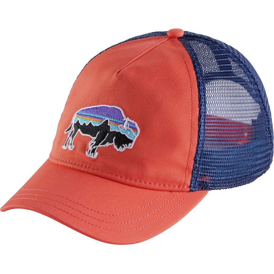 patagonia fitz roy bison layback trucker hat s
