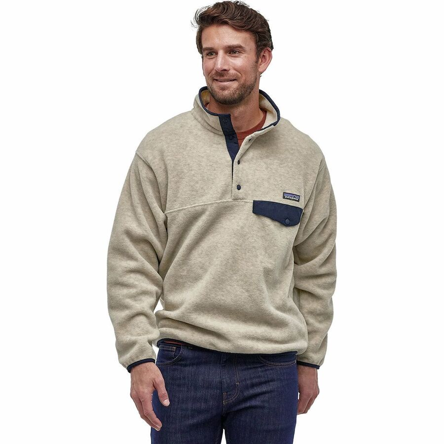 Patagonia synchilla snap t fleece pullover men 39 s for Patagonia men s recycled down shirt jacket