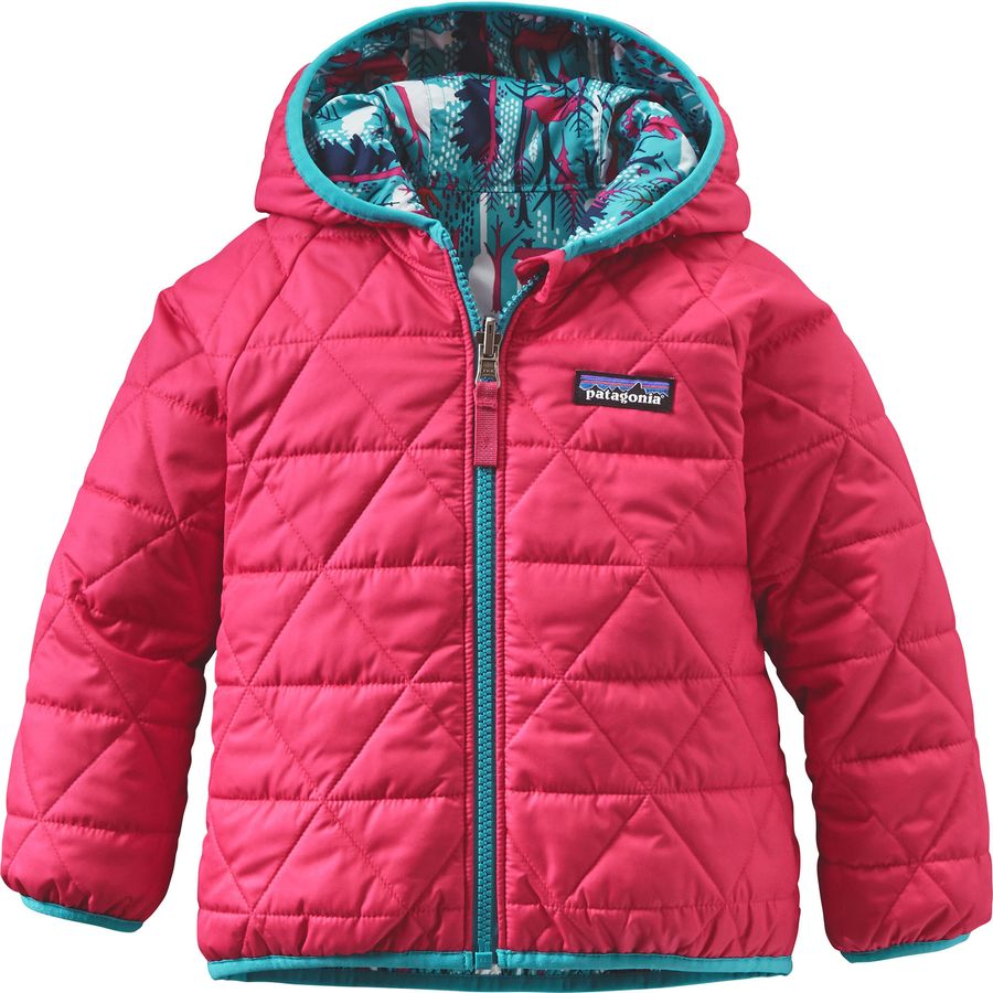 Patagonia Reversible Puff-Ball Jacket - Infant Girls ...