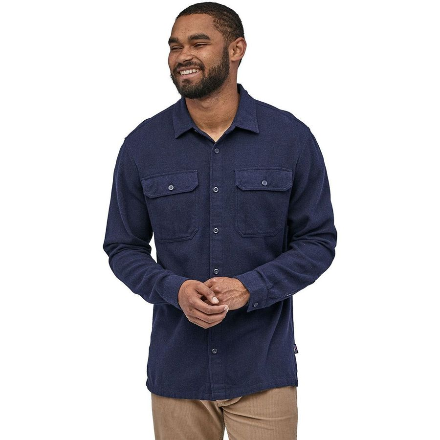 Patagonia fjord flannel shirt men 39 s for What are flannel shirts made of