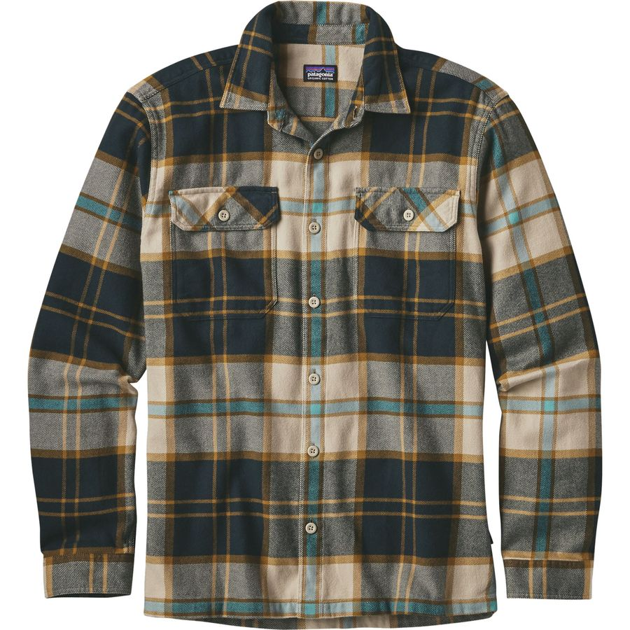 patagonia fjord flannel shirt long sleeve men 39 s