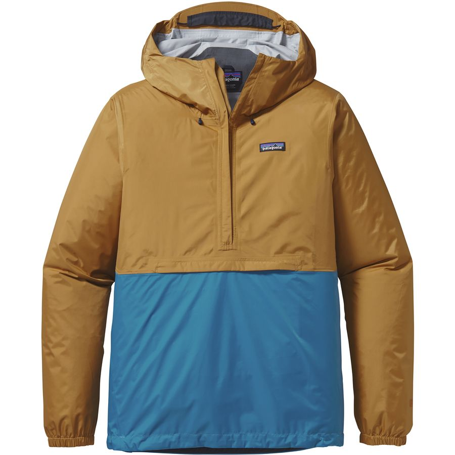 Patagonia torrentshell pullover jacket men 39 s for Pull over shirts for mens