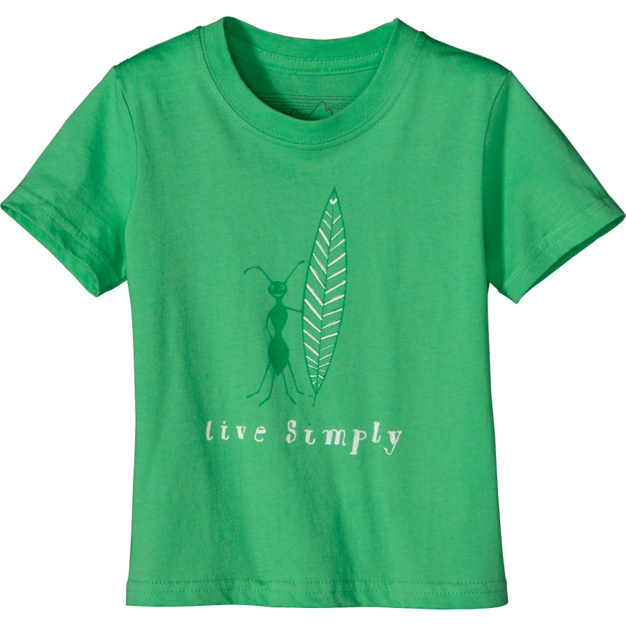 Patagonia Live Simply Surf Ant T Shirt Short Sleeve