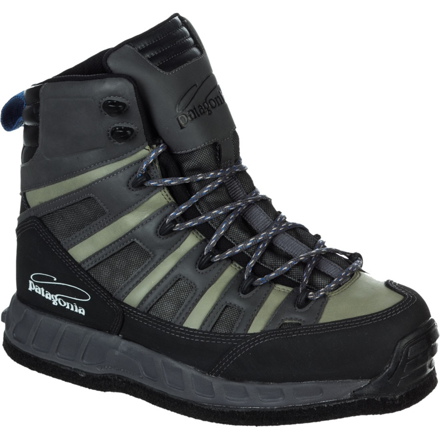 Patagonia ultralight wading boot felt men 39 s for Fly fishing wading boots