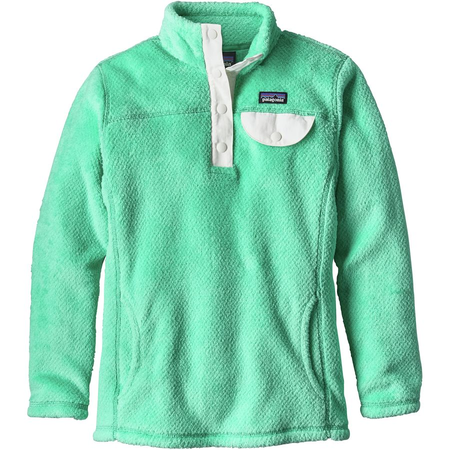 Patagonia Re-Tool Snap-T Pullover Fleece - Girls