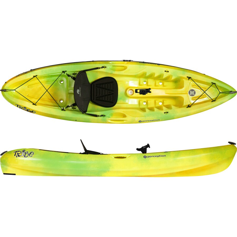 Perception tribe 9 5 angler kayak 2014 discontinued for Perception fishing kayak