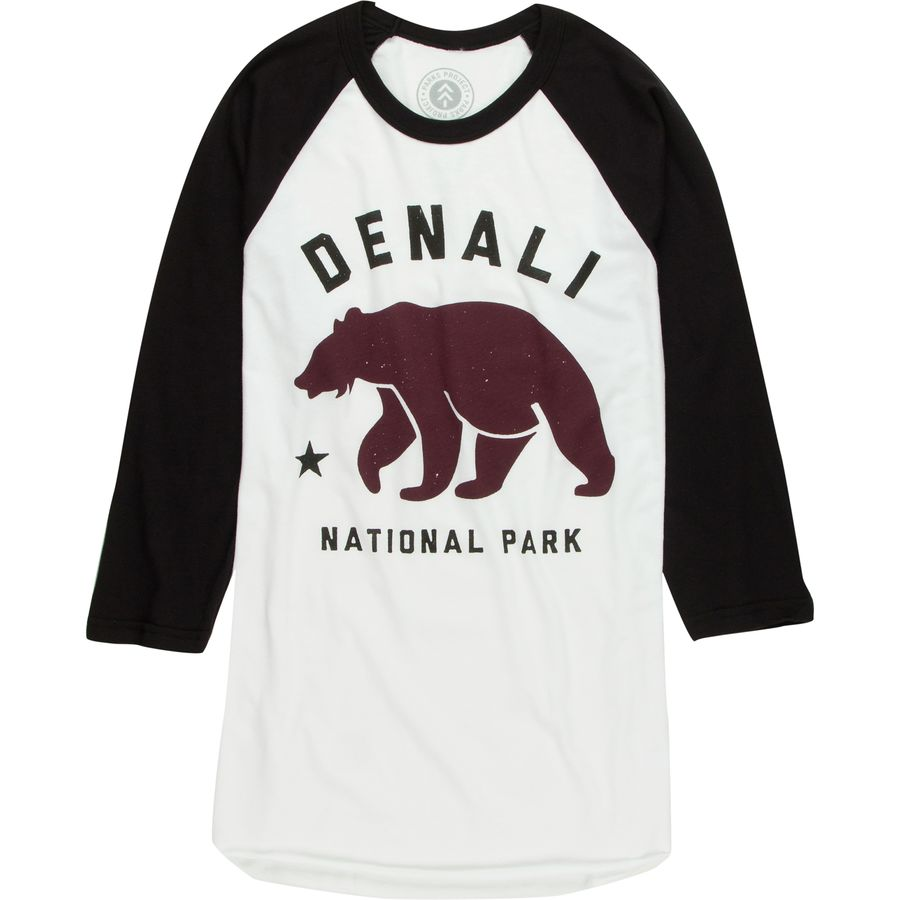 Parks Project Denali Bear Raglan T-Shirt - Long-Sleeve - Mens
