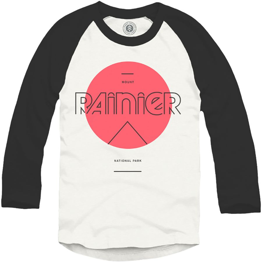 Parks Project Rainier Mod Sun Raglan T-Shirt - Long-Sleeve - Mens