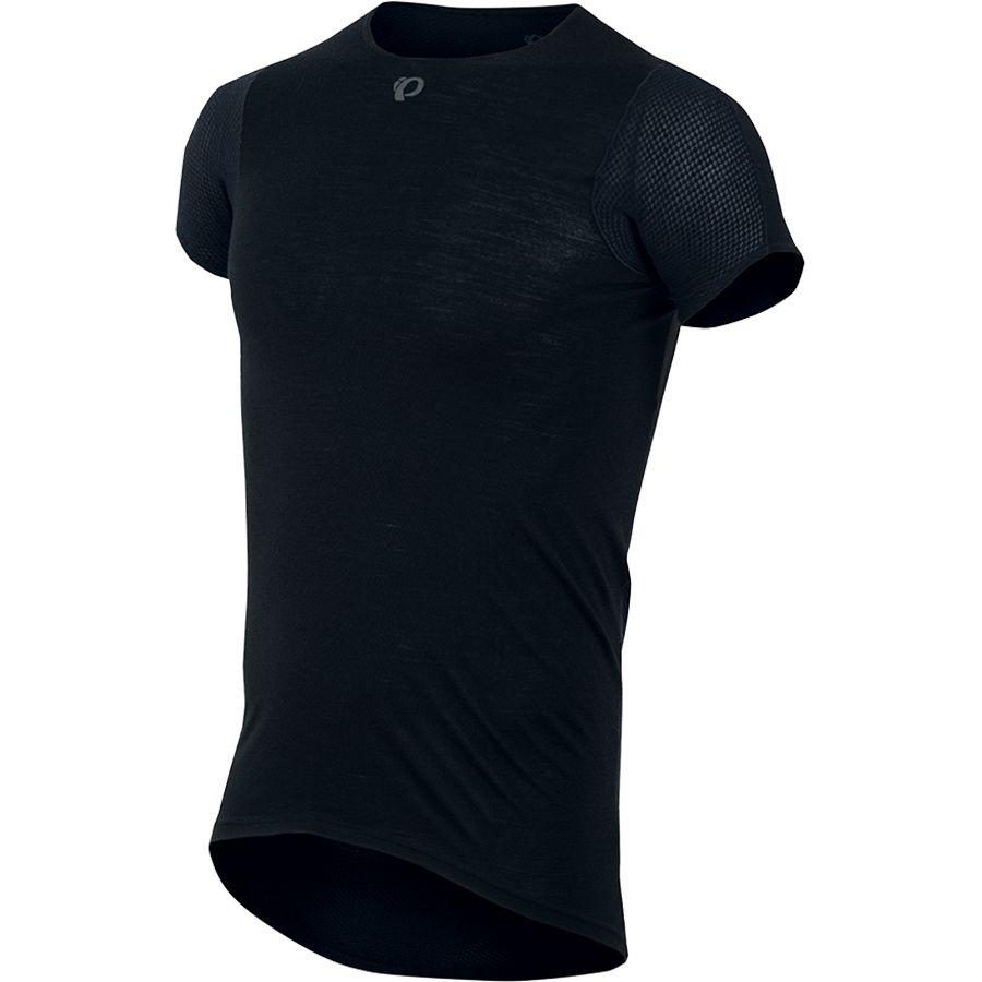 Pearl Izumi Transfer Wool Cycling Baselayer - Short-Sleeve - Mens