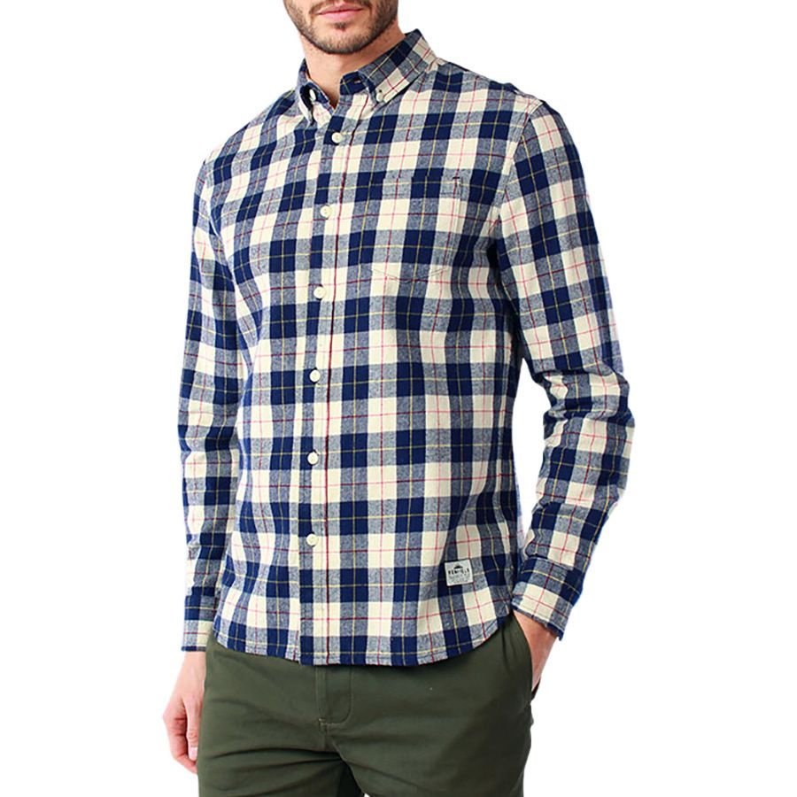 Penfield pearson flannel shirt long sleeve men 39 s for Places to buy flannel shirts