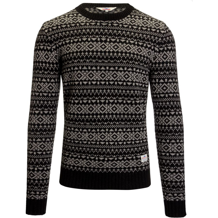 Penfield Duntara Fairisle Crew Sweater - Mens