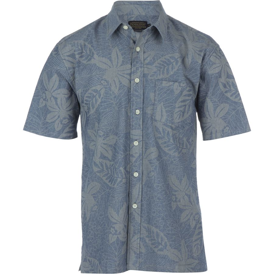 Pendleton camp shirt short sleeve men 39 s for Mens short sleeve camp shirts
