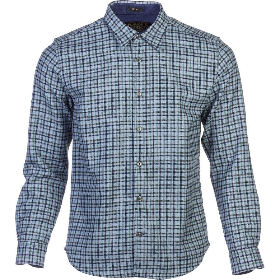 Pendleton grant flannel shirt long sleeve men 39 s for Mens long sleeve flannel shirts