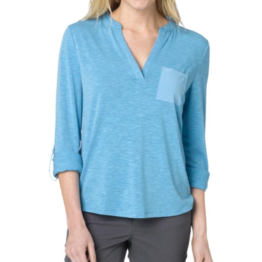 Prana ashlyn shirt long sleeve women 39 s for Prana women s shirts