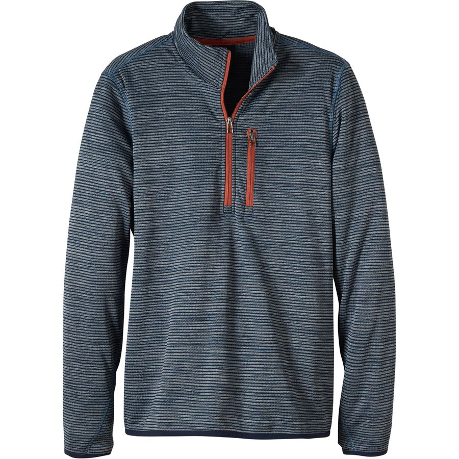 Prana Gatten Fleece Jacket - 1/4-Zip - Mens