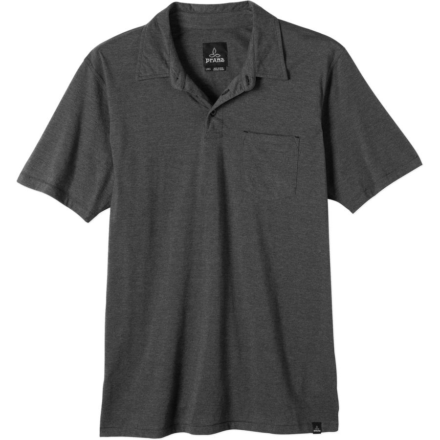 prana marco polo shirt short sleeve men 39 s. Black Bedroom Furniture Sets. Home Design Ideas