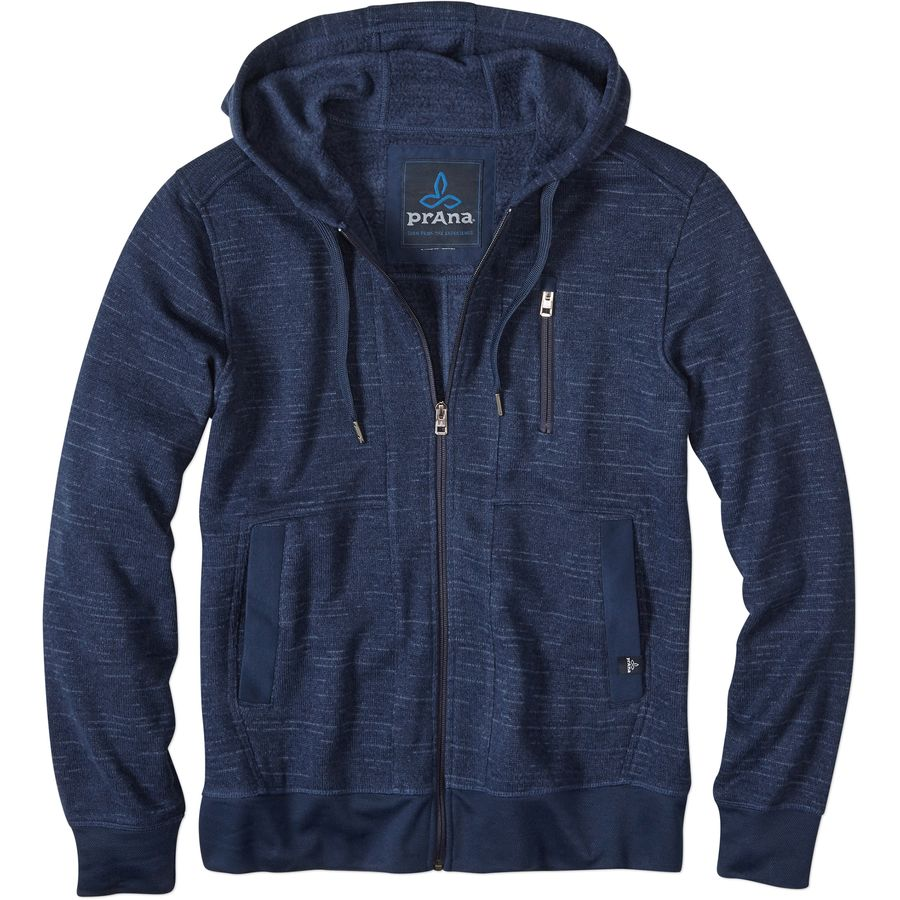 Prana Performance Fleece Full-Zip Hoodie - Mens