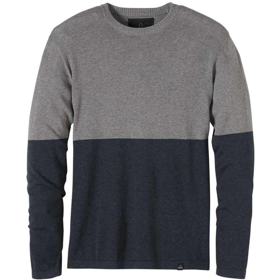 Prana Color Block Crew Sweater - Mens