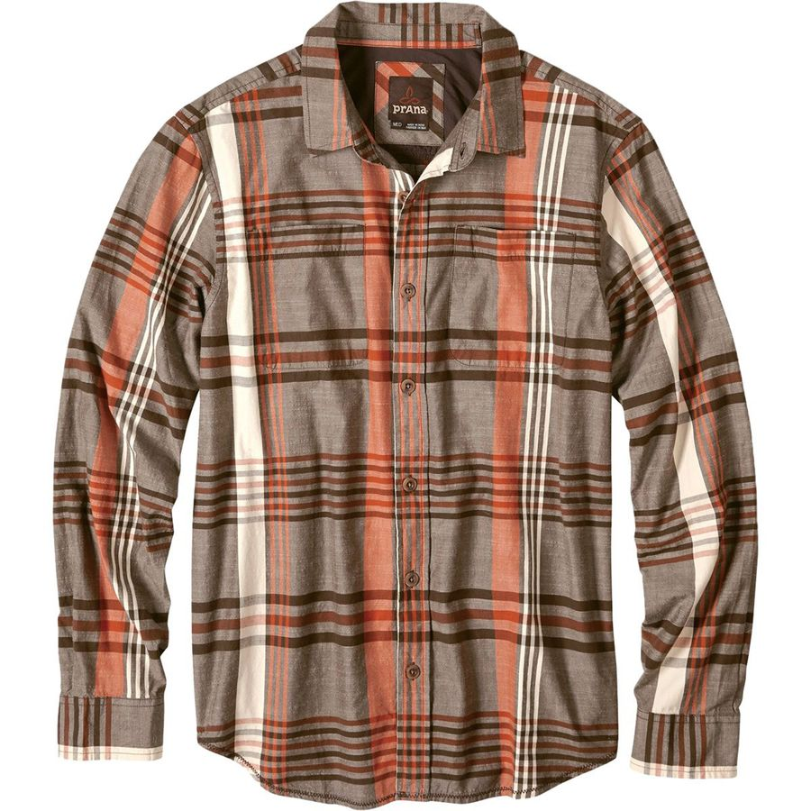Prana Delaney Flannel Shirt - Mens