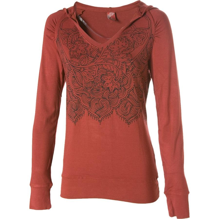 Prana fiona hooded shirt long sleeve women 39 s for Prana women s shirts