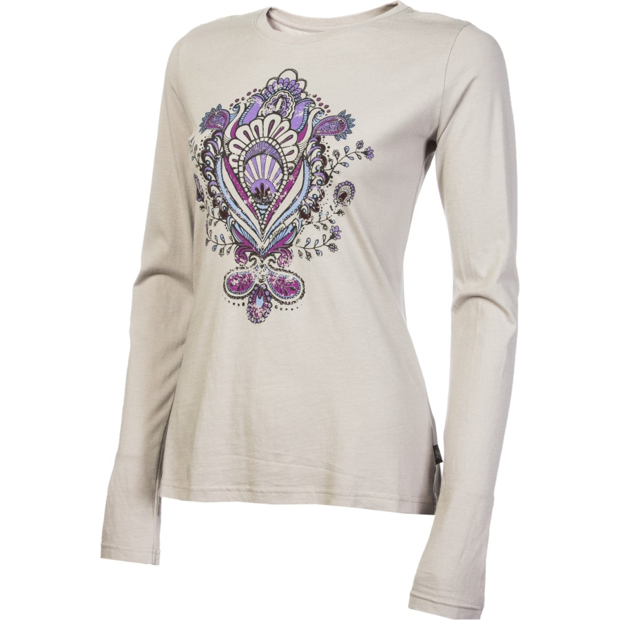 Prana soul t shirt long sleeve women 39 s for Prana women s shirts