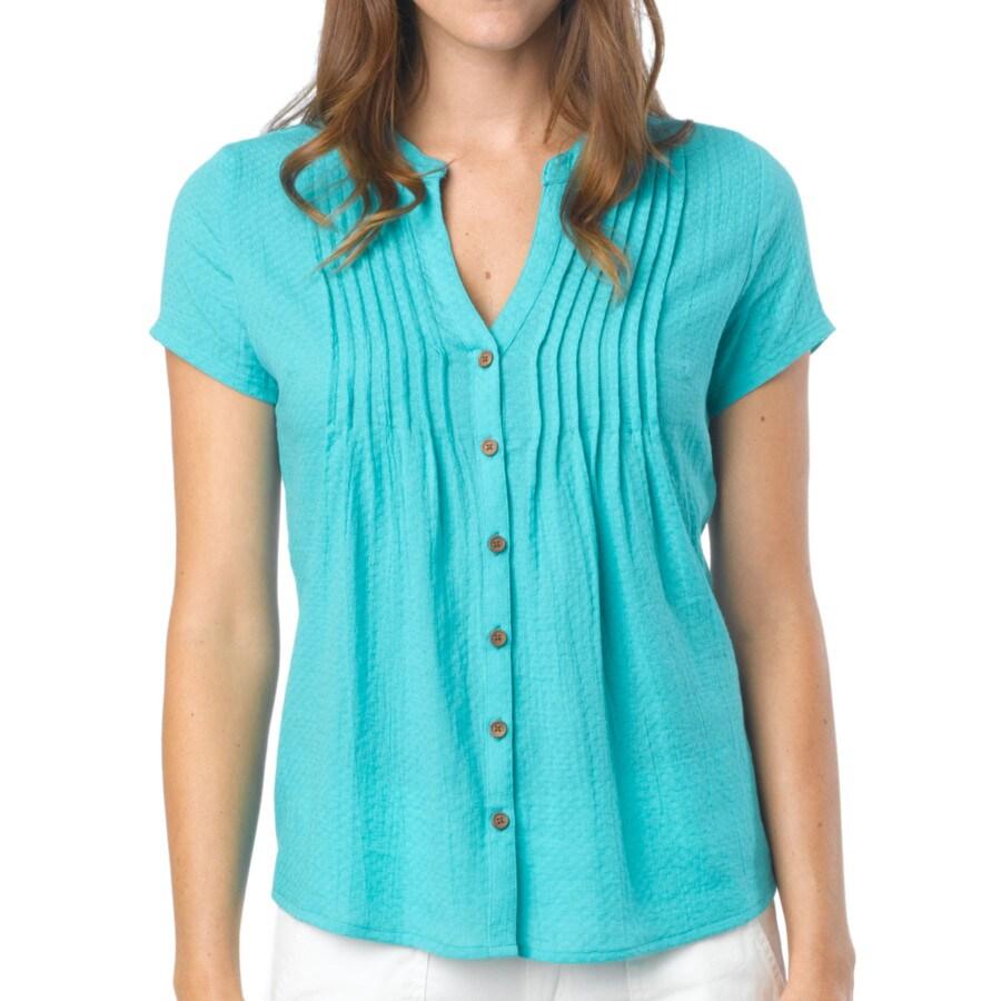 Prana ellie shirt short sleeve women 39 s for Prana women s shirts