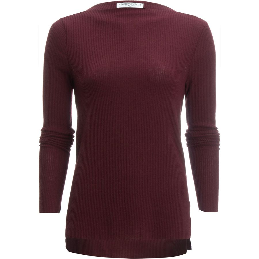 Project social t ruby boat neck shirt women 39 s for Boat neck t shirt women s