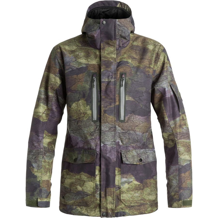 Quiksilver Dark And Stormy Jacket - Mens