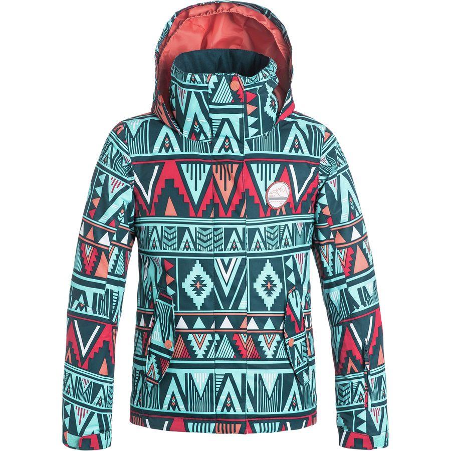 Roxy Jetty Girl Print Jacket - Girls