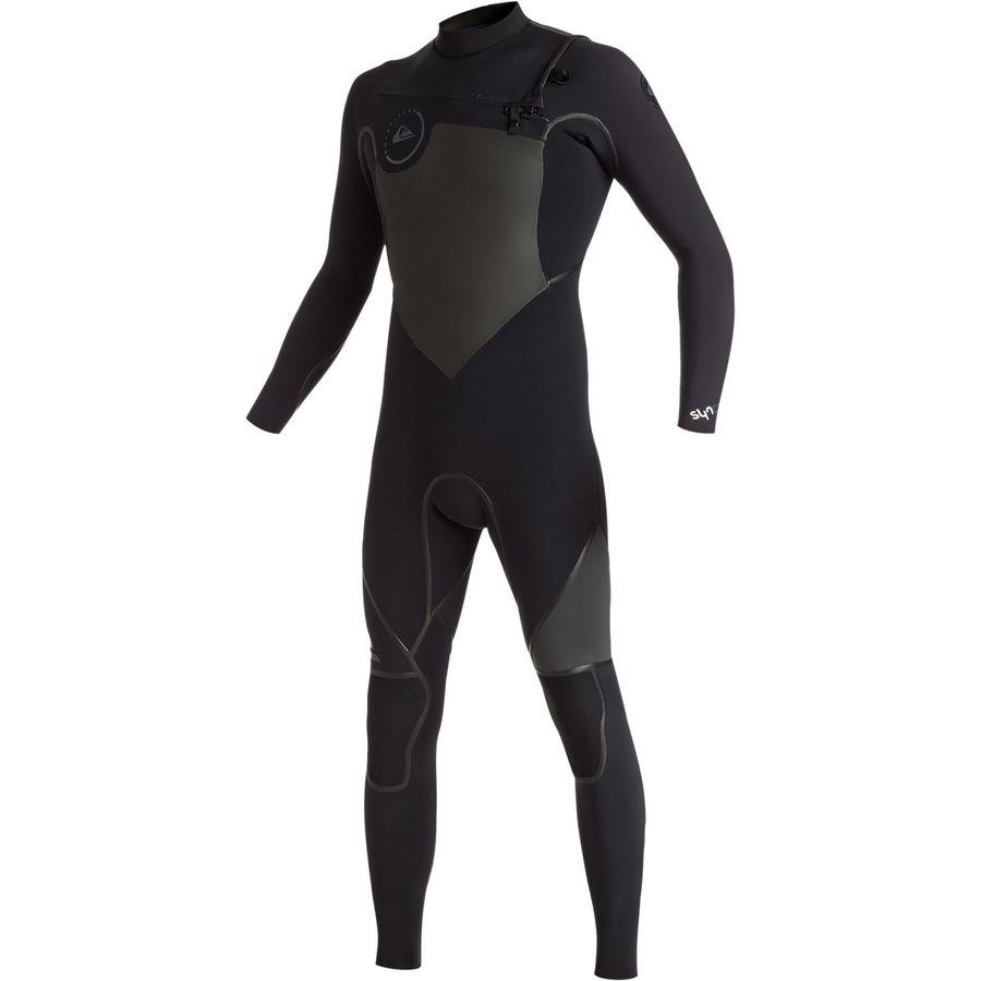 Quiksilver 4/3 Syncro Plus Chest Zip LFS Wetsuit - Mens