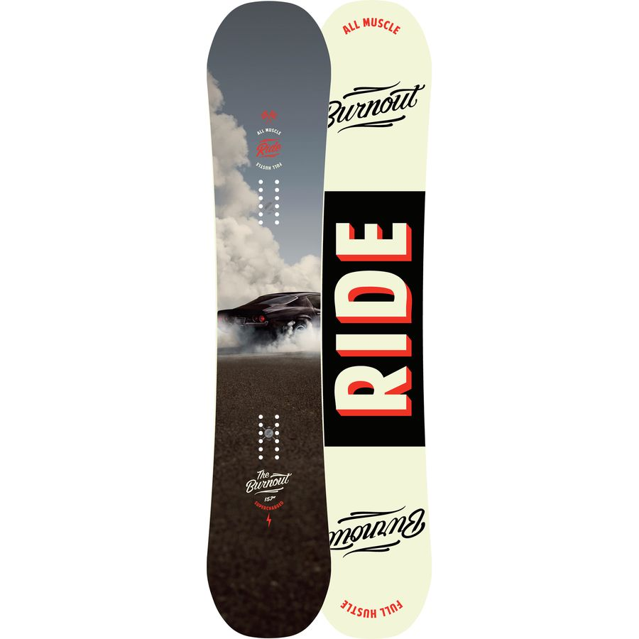 Ride Burnout Snowboard - Wide