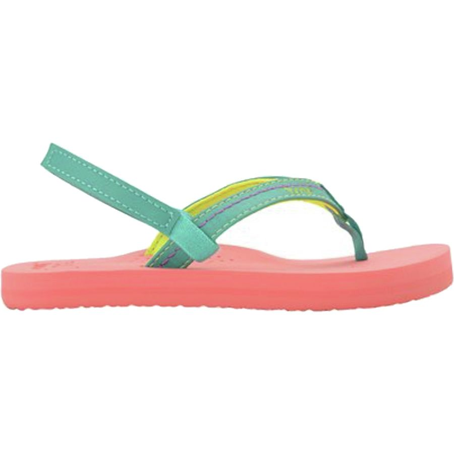 Reef Little Stitched Cushion Sandal - Little Girls