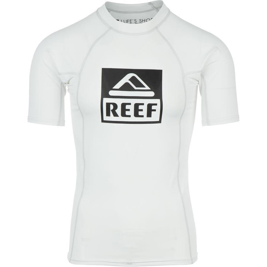 Reef Logo 5 Rashguard - Short-Sleeve - Mens