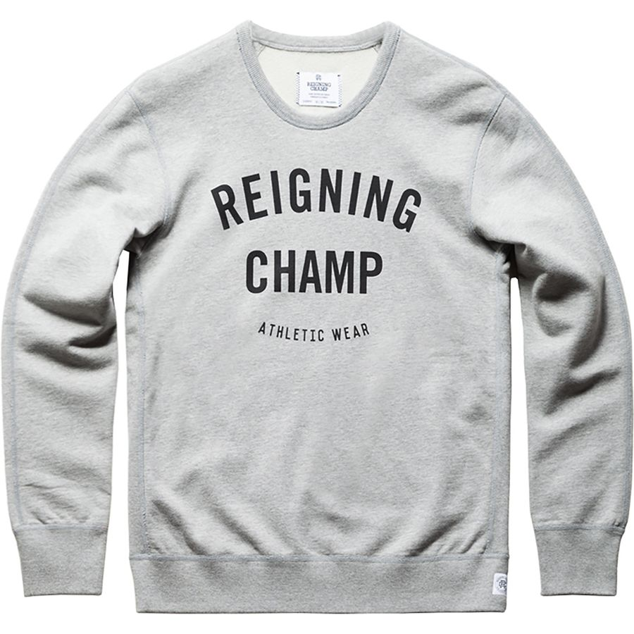 Reigning Champ Gym Crewneck Men S Backcountry Com