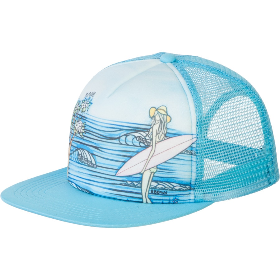 rip curl surf story trucker hat s backcountry