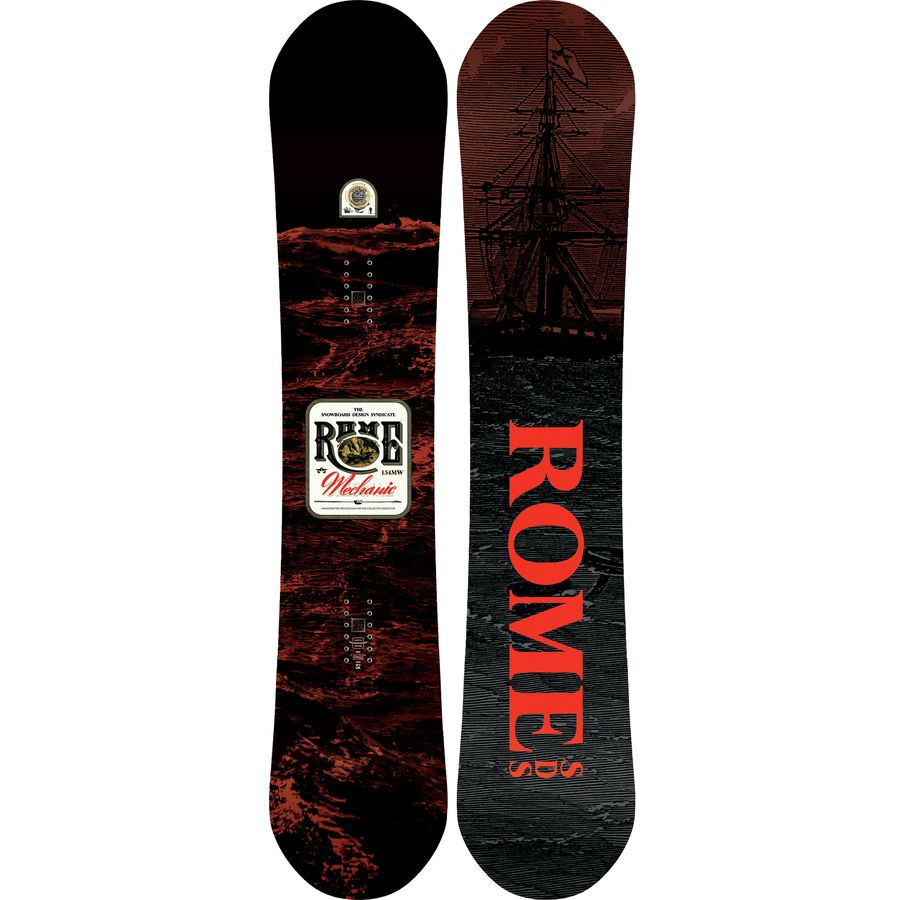 Rome Mechanic Snowboard - Wide