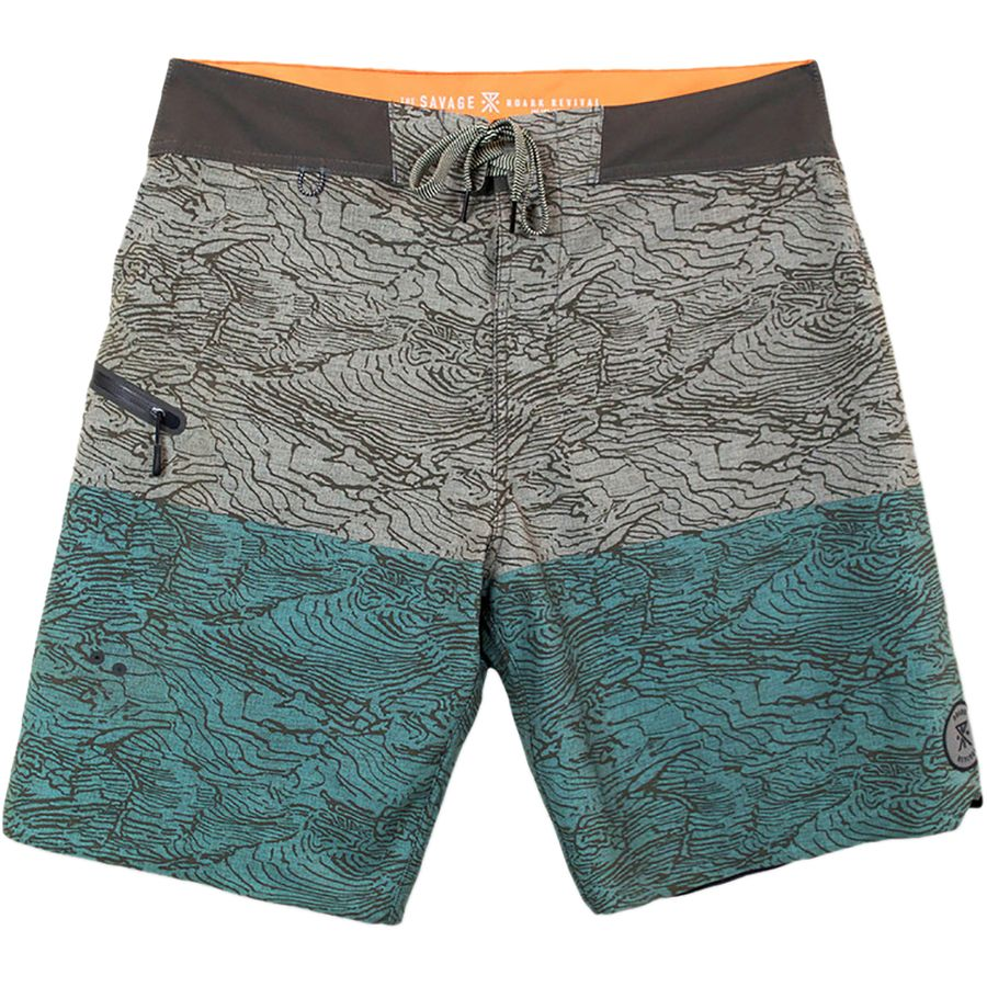 Roark Revival Savage Board Short - Mens